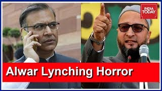 Owaisi Takes A Jibe At Union Min Jayant Sinha After Alwar Lynching