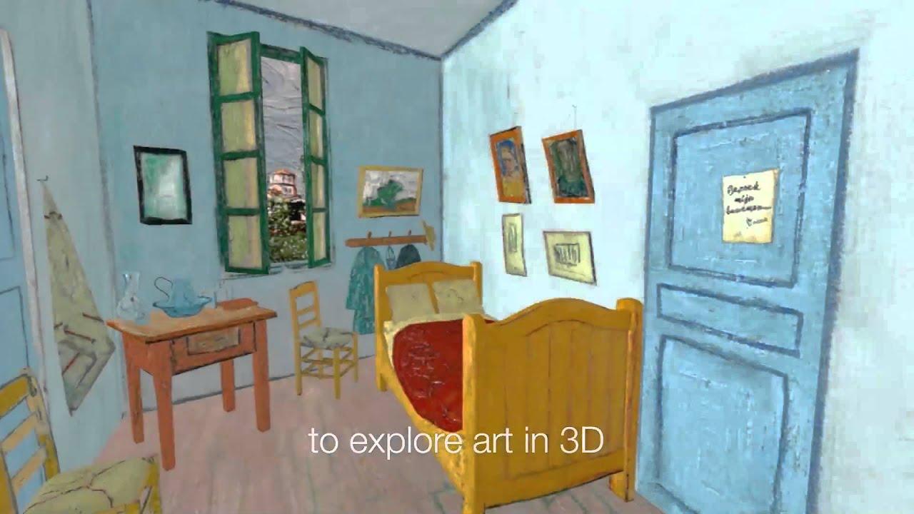 Veejays Com | Art | Virtual Bedrooms, Van Gogh In Virtual Reality
