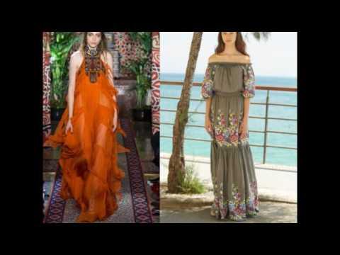 Сарафан и платья для лета 2017 - летние новинки на фото