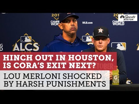 Greg Kretschmar - Red Sox Manager Alex Cora Is in Real Trouble