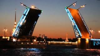 Развод Дворцового моста, Санкт-Петербург