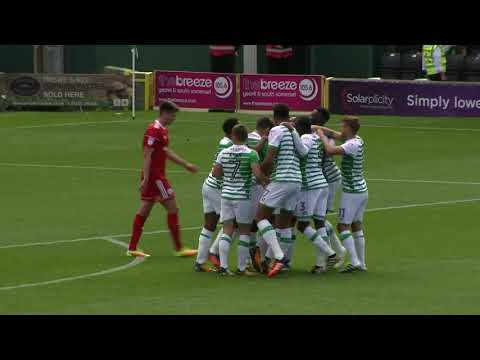 Highlights | Yeovil Town 3-2 Accrington Stanley