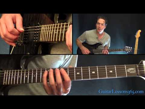 Fuel Guitar Lesson - Metallica - Chords/Rhythms