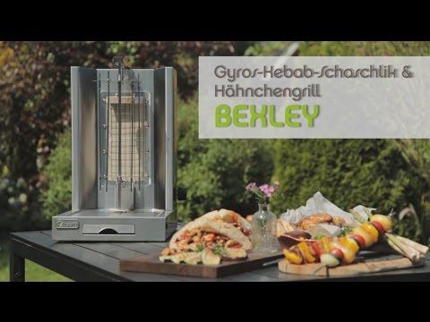 tepro gyros kebab schaschlik h hnchengrill bexley youtube. Black Bedroom Furniture Sets. Home Design Ideas