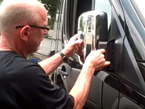 Mercedes Benz Sprinter >> Chrome accents for Sprinter vans. Installed the right way. - YouTube