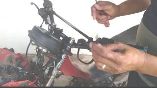 BATTERY OPERATED on motorcycle, HOW? ( tagalogtutorial ).
