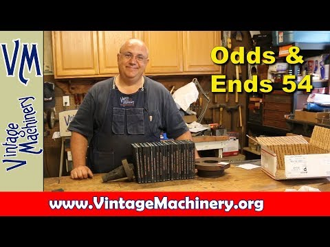 Odds & Ends 54:  Gifts and Tools for the Shop