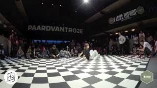 Bgirlsessions bgirl battle 1on1 - prelim - Manal vs Alicia