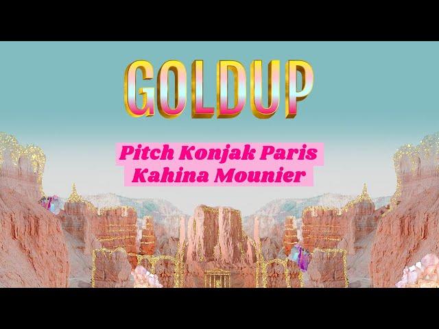 Goldup - Pitch de Konjak Paris par sa fondatrice Kahina Mounier