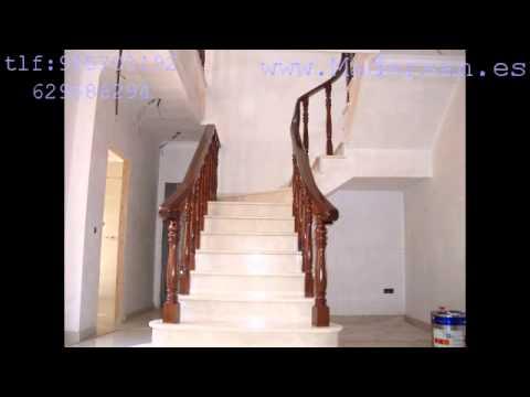 Barandas de escaleras en benacazon youtube - Baranda de escalera ...