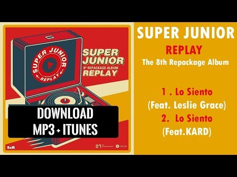 [SINGLE] SUPER JUNIOR – LO SIENTO (MP3 + iTUNES DOWNLOAD)