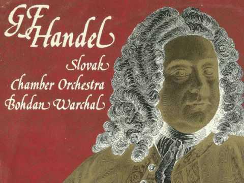 G. F. Händel: Water Music (Slovak Chamber Orchestra, Bohdan Warchal)