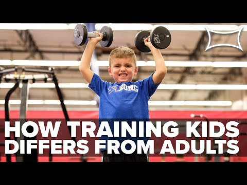 How Training Kids Differs From Training Adults | The Brand X Method (Jeff & Keegan Martin)
