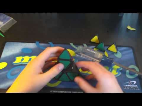 Tutorial on How to Take ball bearings out of a Pyraminx
