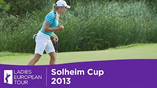 Solheim Cup - Charley Hull on Day 2