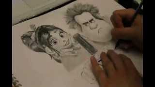 Wreck It Ralph Drawing