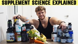TOP 5 SUPPLEMENTS | SCIENCE EXPLAINED (17 STUDIES) | WHEN AND HOW MUCH TO TAKE