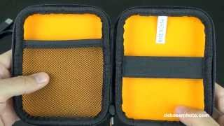 AmazonBasics Hard Drive Case Review