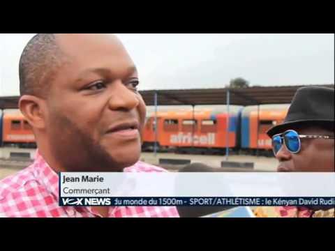 REPORTAGE: RDC   la ligne de chemin de fer Kinshasa   Matadi relancée