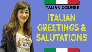 Italian Course - How to say hello in Italian