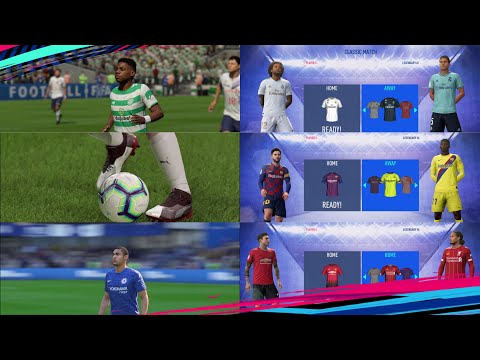 WZRDs FIFA 19 FACE+BOOTs+KITs+TATTOO PACK V4.5