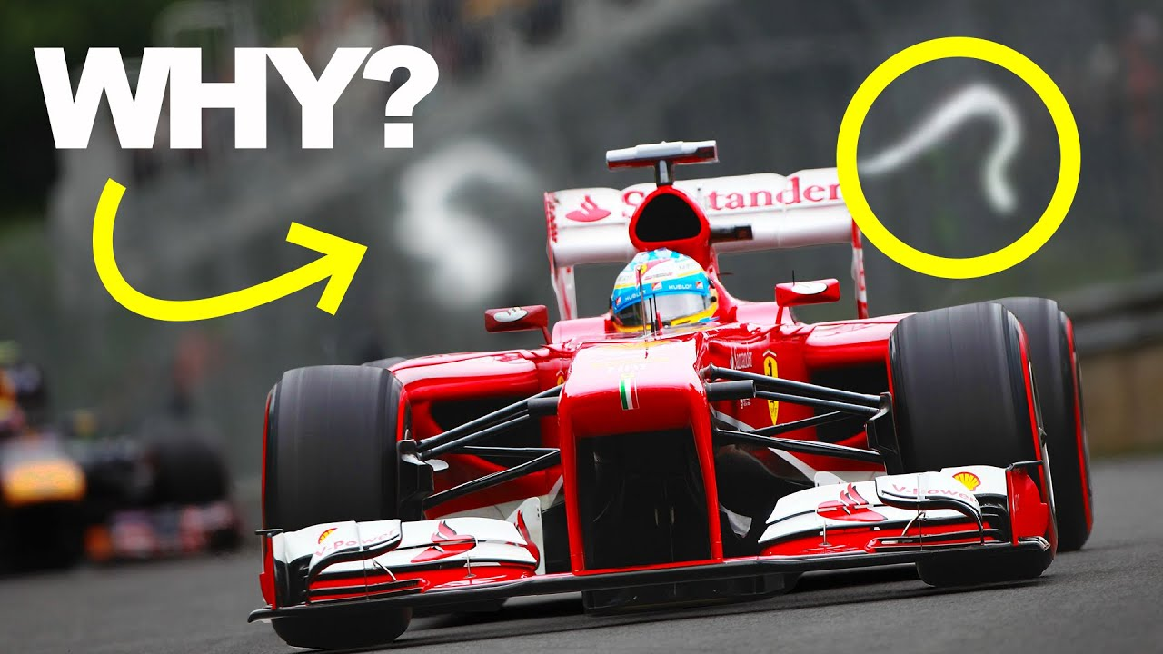 How Vortices Make F1 Cars Quicker