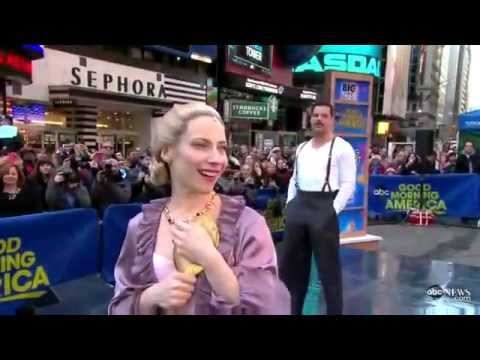 Elena Roger & Ricky Martin (Evita on Broadway)