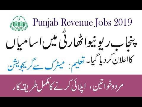 punjab-revenue-authority-jobs-2019-|-punjab-revenue-authority-finance-department