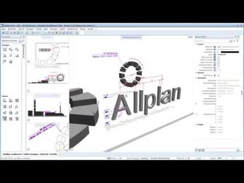Allplan 2015 Addon 3D Bemassung V2