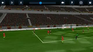freekick goal by Roberto Firmino on dream league soccer 2nd