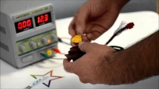 How to cut low intenstiy load resistor for JDM ASTAR plug & play dual filament load resistor