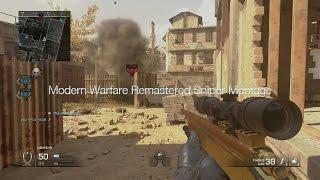 OpTic Pamaj - COD:Modern Warfare Remastered Sniping Montage