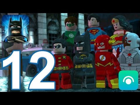 LEGO Batman: DC Super Heroes - Gameplay Walkthrough Part 12 -  Final Battle, Ending (iOS, Android)
