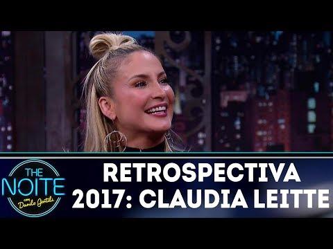 Retrospectiva 2017: Claudia Leitte   The Noite (02/03/18)