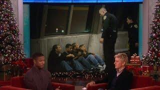 The Incredible Michael B. Jordan on Ellen show