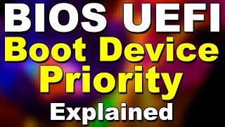 BIOS UEFI Boot Device Priority Explained