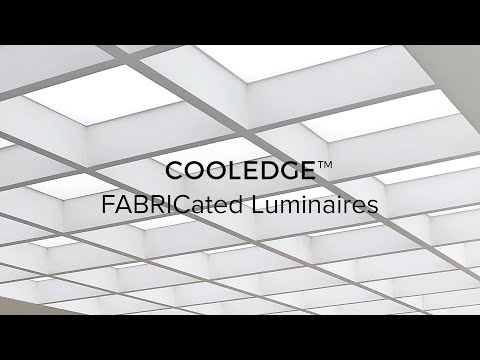Cooledge Luminous Ceilings Fabricated Luminaires Revolutionary And Simple Youtube