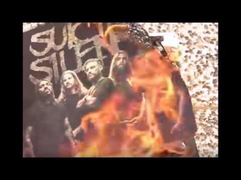 man burns new Suicide Silence album - Deftones play Phantom Bride live for 1st time!