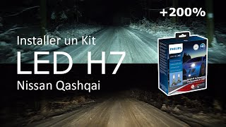 Installer un kit LED H7 QASHQAI 💡