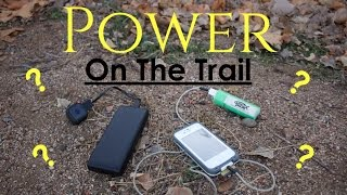 Power on the Trail / Giveaway!