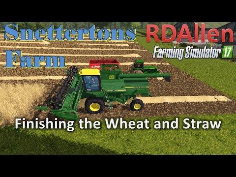 Snettertons Farm Finishing the Winter Wheat Live Stream 09 17 17