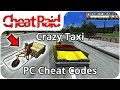Crazy Taxi Cheat Codes | PC