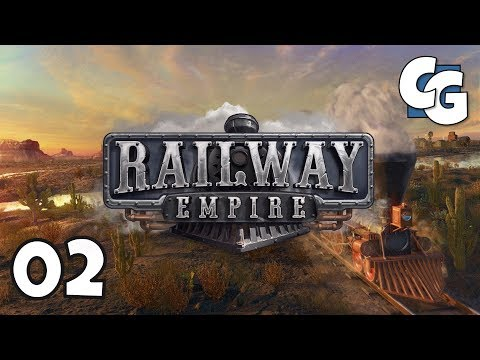 Railway Empire - Ep. 2 - Central Hub (Warehouse) - Railway Empire Let's Play