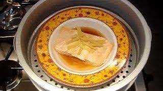 Steamed Ginger Salmon Recipe