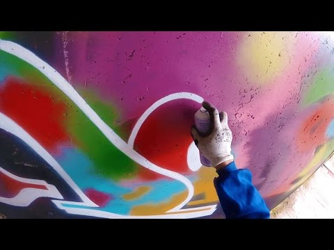 Graffiti  Rake43  Color Explosion