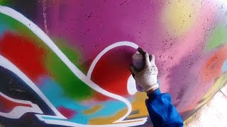 Graffiti - Rake43 - Color Explosion