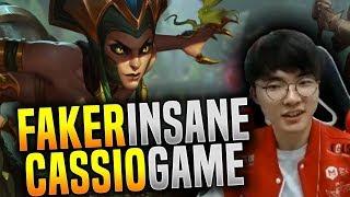 Faker Insane Cassiopeia Dominance ft Peanut! - SKT T1 Faker SoloQ Playing Cassiopeia Mid! | SKT T1