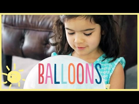 PLAY | 3 Simple BALLOON Activities Your Kids Will Love!