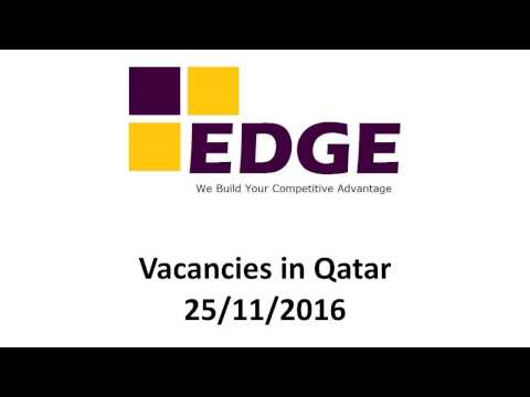 Jobs in Qatar 25 Nov  2016