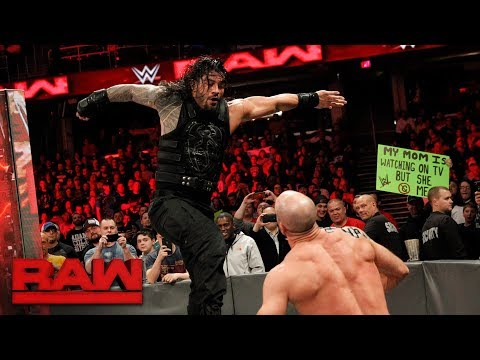Roman Reigns vs. Cesaro - Intercontinental...